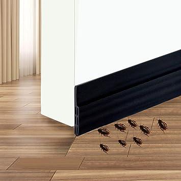 2 W x 39 L Door Sweep Strip Under Door Draft Blocker Suptikes Door Draft Stopper Under Door Seal for Exterior//Interior Doors Soundproof Door Bottom Weather Stripping White