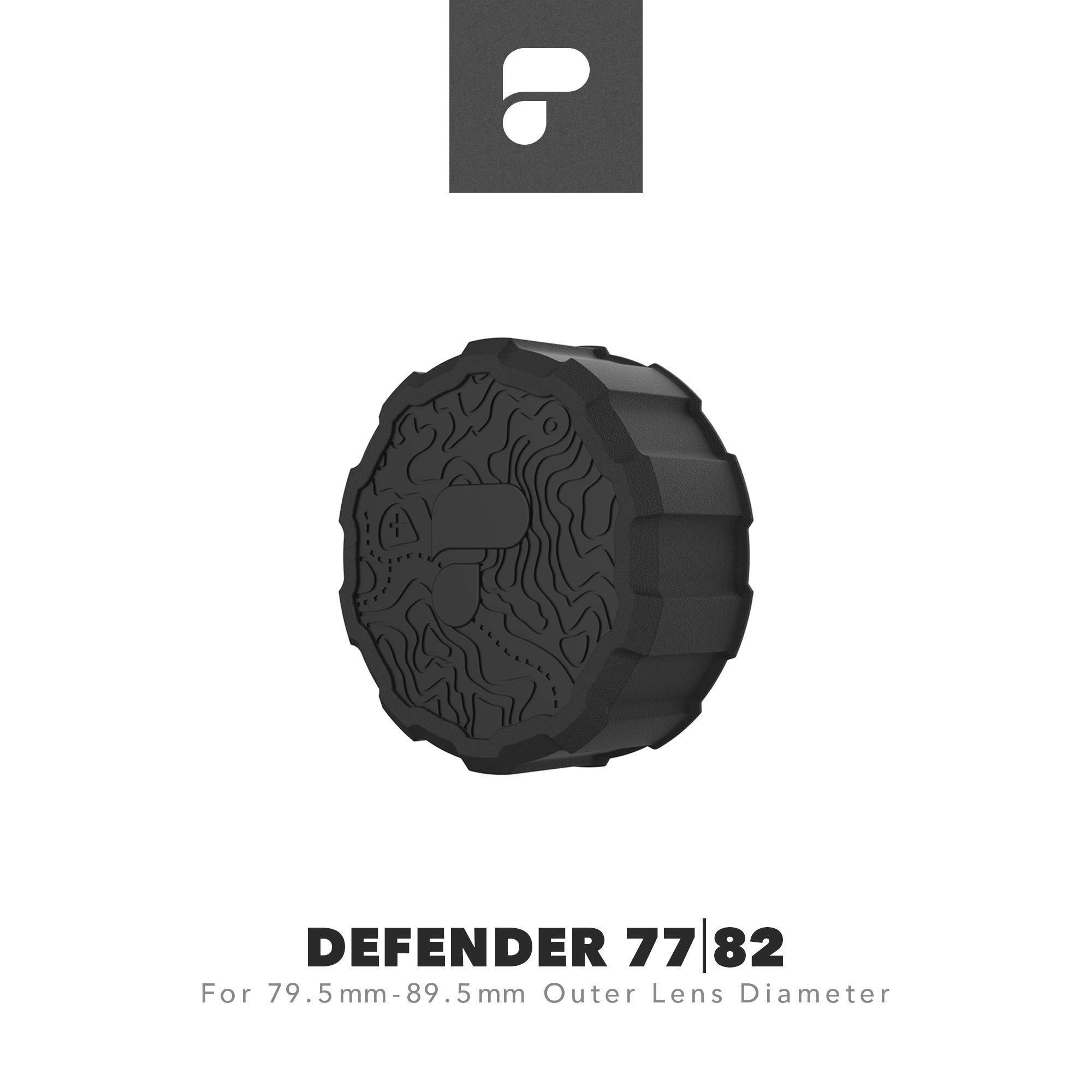 PolarPro Defender 77   82 Lens Cover (Fits Lenses with 79.5mm-89.5mm Outer Lens Diameter)