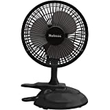 Holmes Convertible Desk & Clip Fan, Black HCF0611A-BM