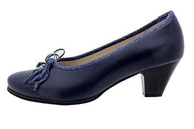 Damen Pumps, schwarz - schwarz - Größe: 40 PieSanto