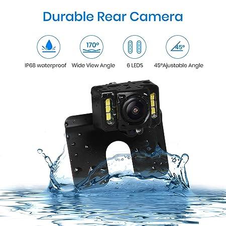 Amazon.com: AUTO-VOX M1W kit de cámara de respaldo ...