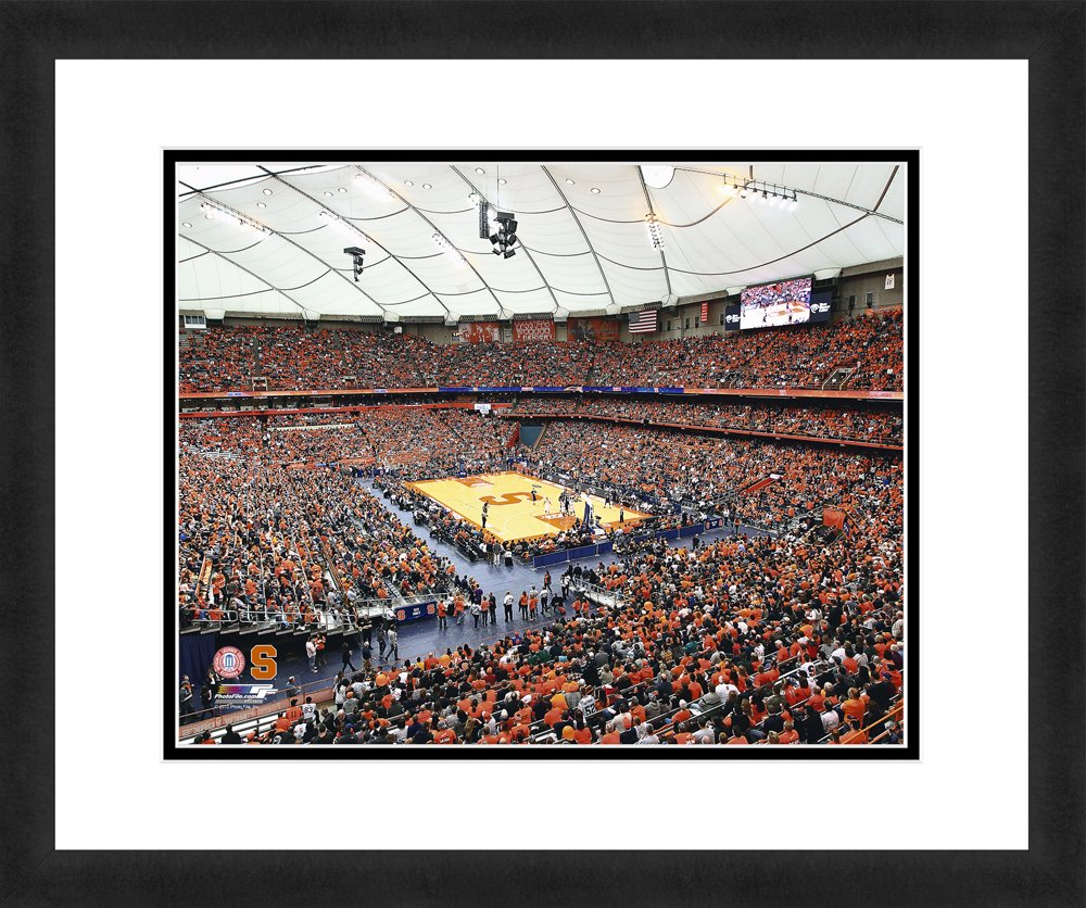 Photo File NCAA Syracuse Orange Stadium, wunderschön gerahmt, doppelt mattiert, 45,7 x 55,9 cm