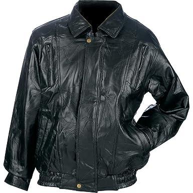 a67c36d17 Maxam Italian Mosaic Design Genuine Top Grain Lambskin Leather Jacket