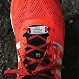 GoTags Shoe ID Tags, Important ID for Runners, Cyclists, Athletes, Travelers and Children, Secure Stainless Steel ID Tag…