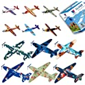 24-Pack Smailkat Kids Flying Glider Plane