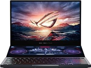 "ASUS ROG Zephyrus Duo 15 Gaming Laptop, 15.6"" 300Hz FHD IPS Type, NVIDIA GeForce RTX 2080S Max-Q, Intel Core i9-10980HK, 16GB DDR4, 1TB PCIe SSD, Per-Key RGB, Thunderbolt 3, Win10 Pro, GX550LXS-XS96"