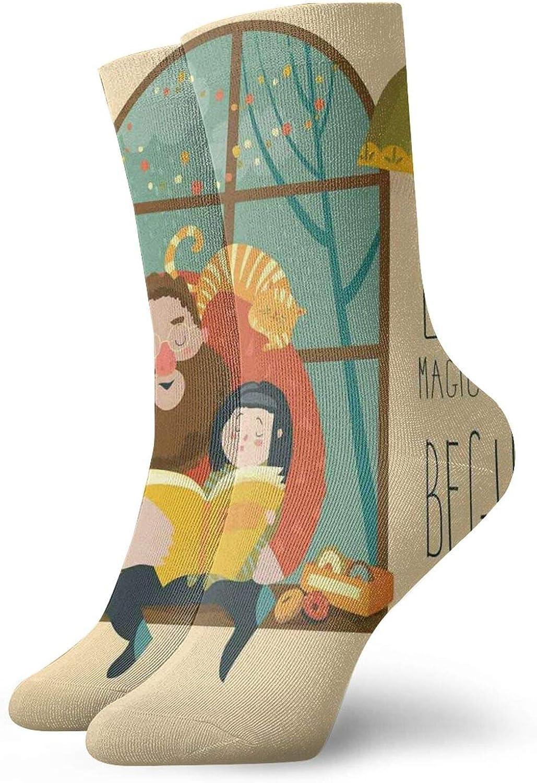 Calcetines cortos de longitud de pantorrilla suaves para