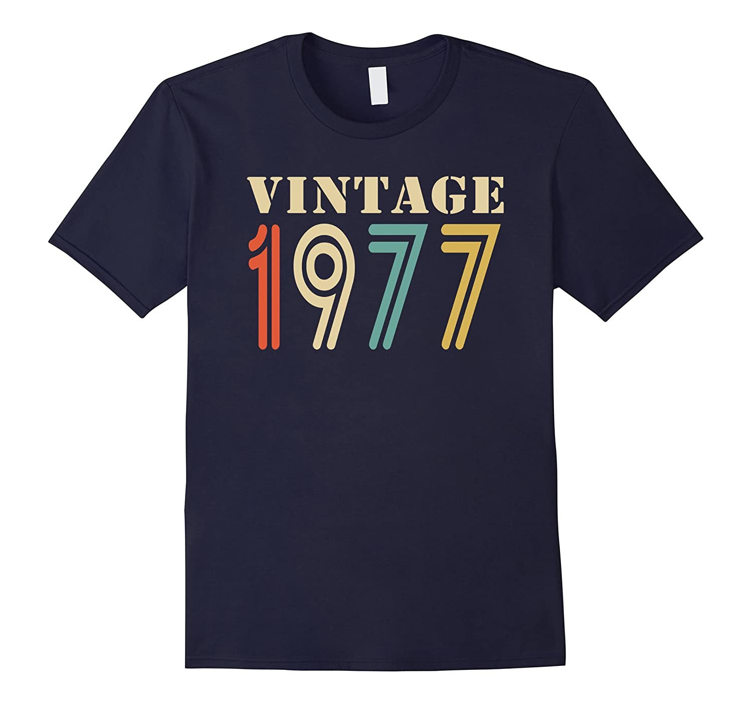 Vintage 1977 - 40th birthday gift shirt-BN