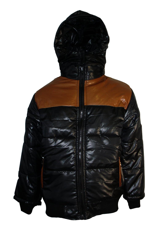 Aelstores Boys Coat School Padded Hooded Jacket Waterproof New Age 3-14 Years