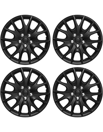 amazon hubcaps hubcaps trim rings hub accessories Donut Spare Tires Cars hubcaps 15 inch wheel covers set of 4 hub caps for 15in wheels