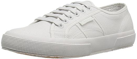 Superga Unisex 2750 Cotu Total Light Grey Classic Sneaker - 36 M EU / 6 B
