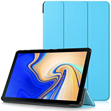 more photos 513ad ae213 Samsung Galaxy Tab S4 10.5 Case - Ultra Slim Lightweight Smart Shell Stand  Cover Case with Auto Wake/Sleep Function for Samsung Galaxy Tab S4 T830N /  ...