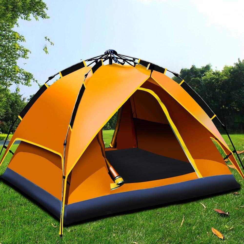 Lxj Automatische hydraulische Outdoor Zelt Zelt 3-4  Herrenchen automatische schnelle offene regendichte Camping Zelt 210  190  h135cm