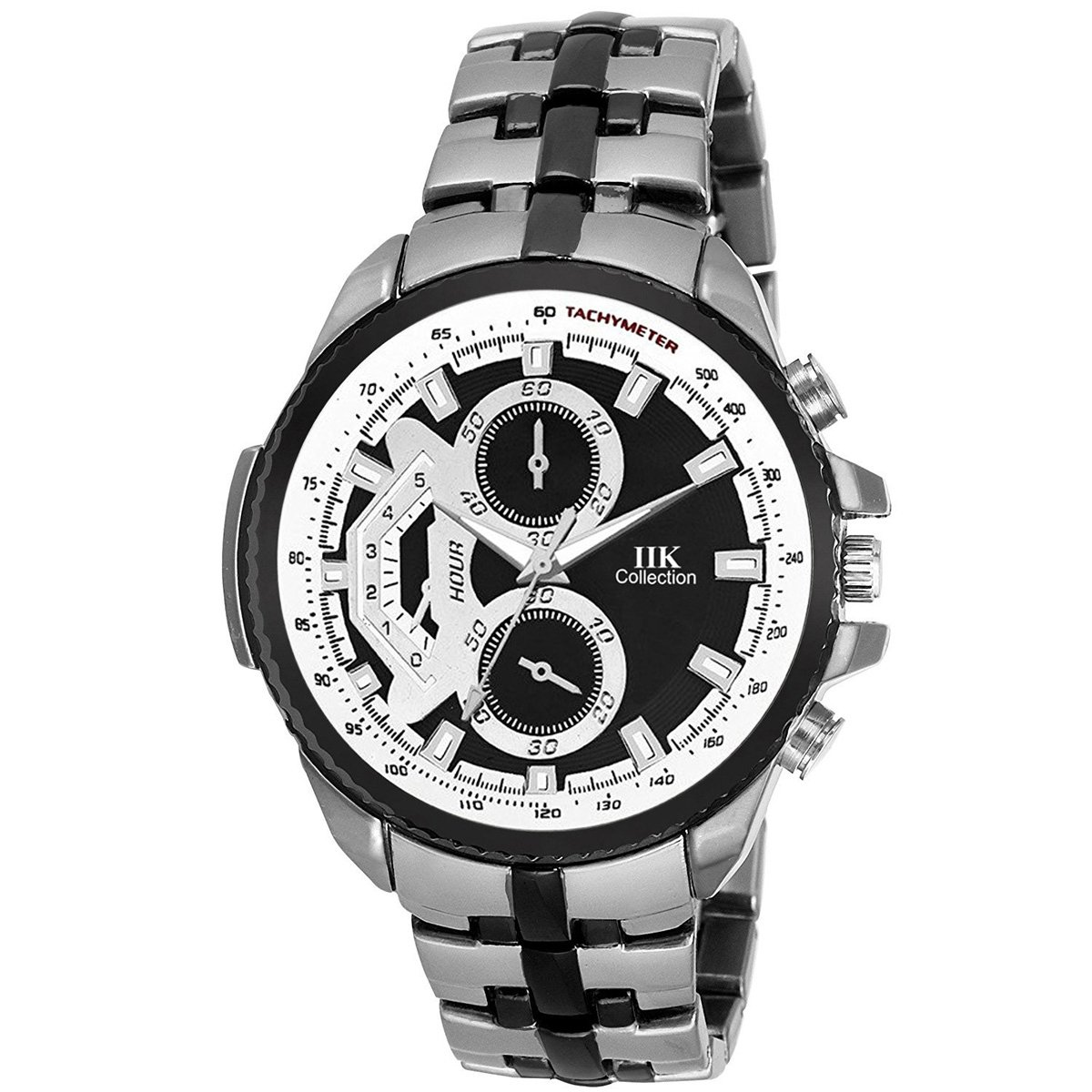 0c6cc4f0248 Buy Iik Collection Watches Analogue Black Dial Men s Watch - IIK-102M  Online at Low Prices in India - Amazon.in