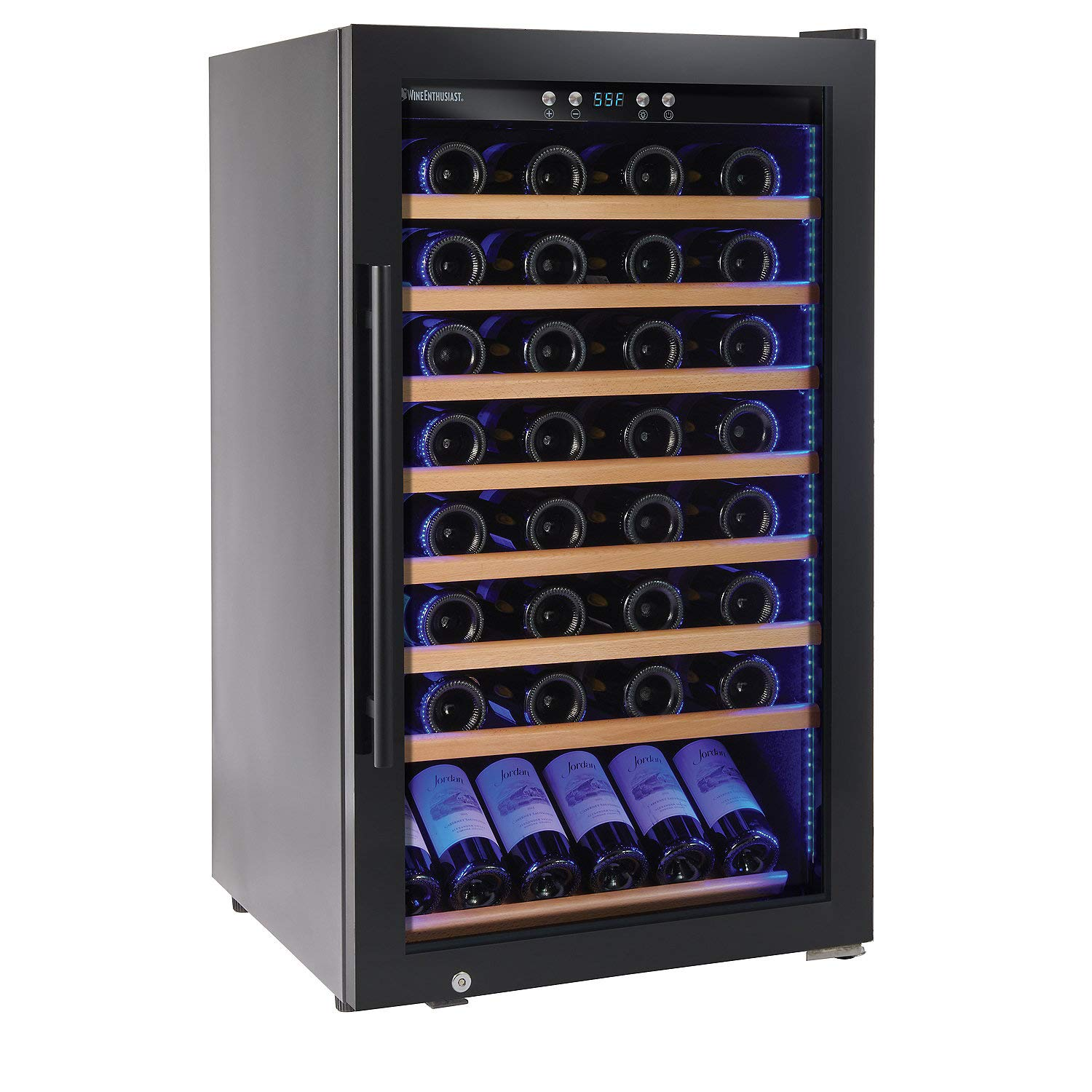 Wine Enthusiast Classic L 80 Bottle Wine Cellar - Freestanding Wine Refrigerator by Wine Enthusiast Classic Wine Cellars