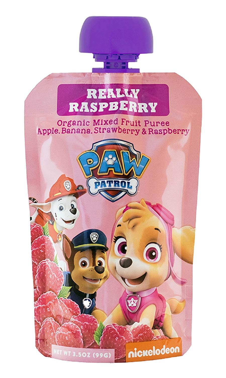 PawPatrol - (Super Strawberry, Really Raspberry, Mighty Mango, Bold Blueberry) USDA Organic, BPA Free, Fruit Squeeze Pouch | Pack of 40 Total by PawPatrol (Image #2)