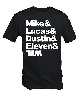 6TN Mens Stranger Things Cast Name T Shirt ( XXL )