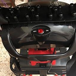 FIT-FORCE Cinta de Correr Plegable 2000W con masajeador,USB, Dos ...