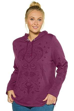 Ulla Popken Damen große Größen bis 64   Sweatshirt, Hoodie