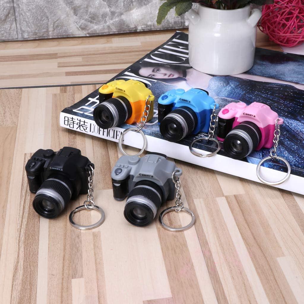 EAPTS Mini Digital SLR Camera LED Flash Light Torch Shutter Sound Keychain