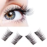 Amazon Price History for:3D Reusable fashionable Black and Brown color False Magnetic Eyelashes Ultra thin no glue needed for natural longer thicker eyelash look by Vena Beauty