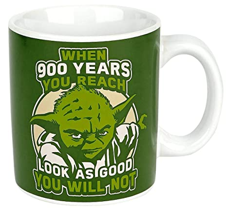 Star Wars 1 Taza Yoda