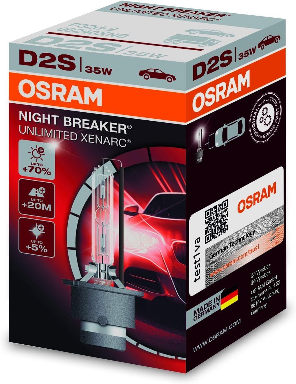 2x Dacia Duster Genuine Osram Cool Blue Intense Low Beam Headlight Bulbs Pair