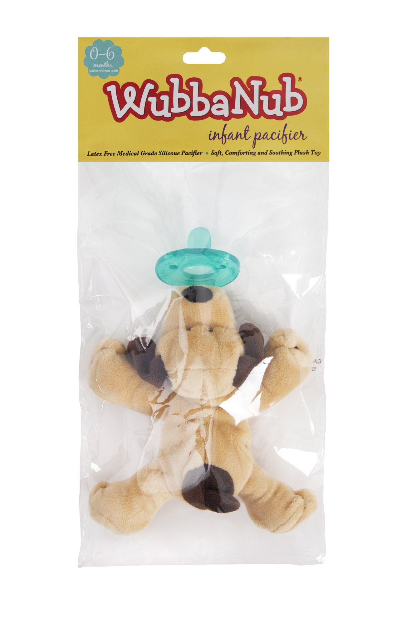 WubbaNub Infant Pacifier - Brown Puppy by WubbaNub (Image #4)