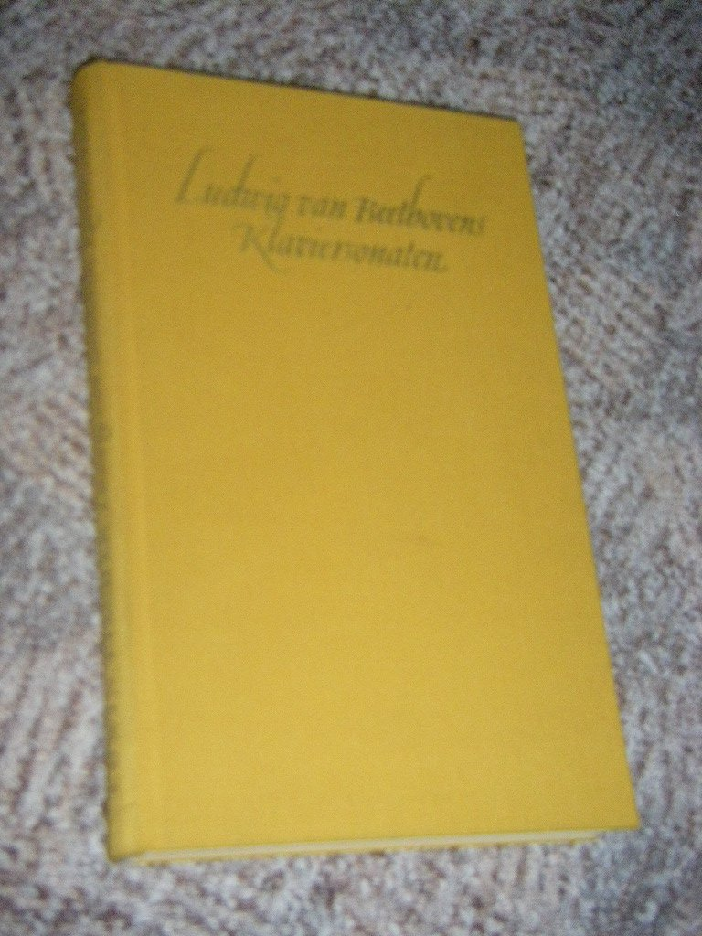 Ludwig van Beethovens Klaviersonaten. Ein Begleiter für Studierende und Liebhaber Gebundenes Buch – 1956 Edwin Fischer Insel-Verl. B0000BI262 Film