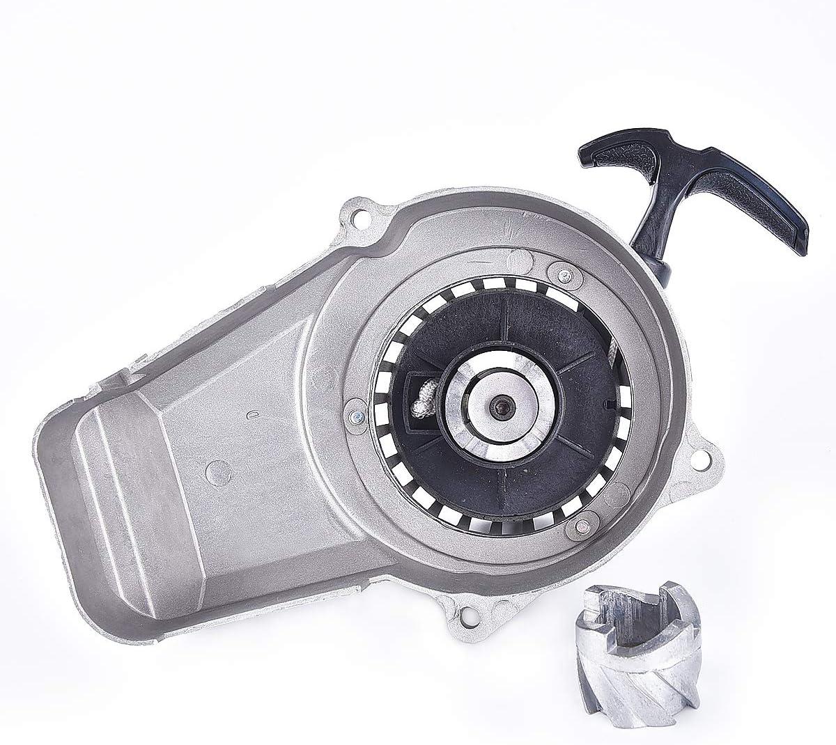 Aluminum Pull Start Starter Recoil 47 49cc Claw Mini Pocket Bike Quad ATV Metal