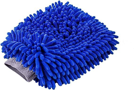 Premium Chenille Microfiber Wash Mitt 1Pcs Microfiber Towels 2Pcs Lint Free Scratch Free AUTODECO 4Pcs Car Wash Cleaning Kit Wash Sponge Glove 1Pcs