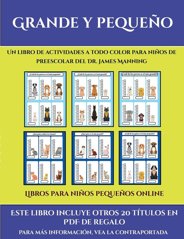 Libros para niños pequeños online Grande y pequeño : Este libro ...