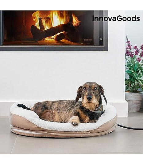 InnovaGoods IG115335 Cama Eléctrica Térmica para Mascotas, 18W, M