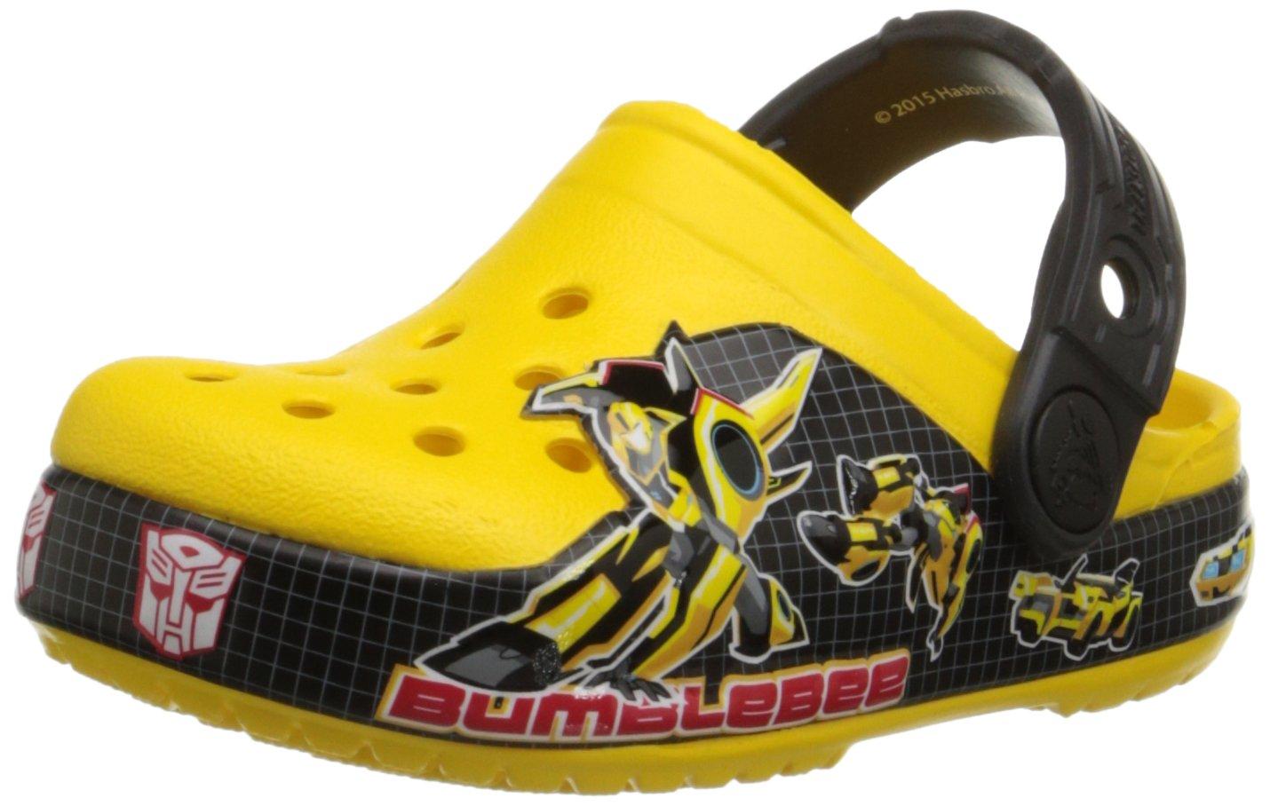 Crocs Boys' CB Transformers Bumblebee Clog crocs 201192