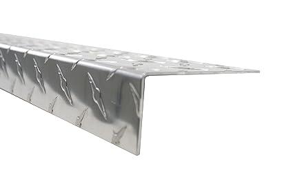 """Umbrales para cobertizos Diamond chapado en 48 """"x 4"""" x 1 – 1"""
