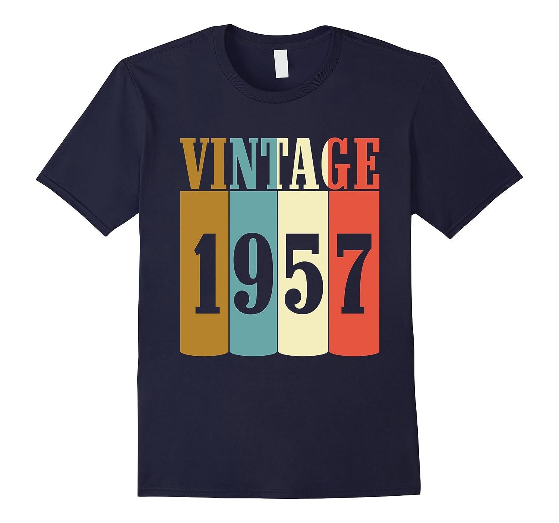 60th Birthday 1957 Classic Vintage T-Shirt 60 yrs old Tee-BN