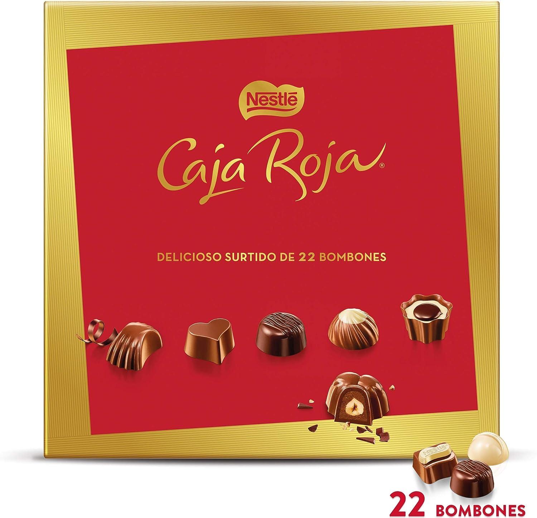NESTLÉ CAJA ROJA Bombones de Chocolate - Estuche de bombones 200 g: NESTLE: Amazon.es: Alimentación y bebidas