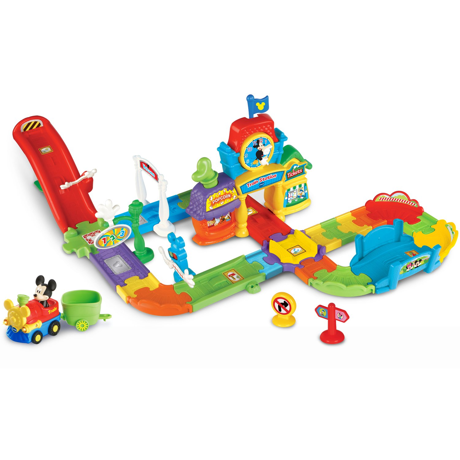 VTech Go! Go! Smart Wheels Mickey Mouse Choo-Choo Express by VTech (Image #1)