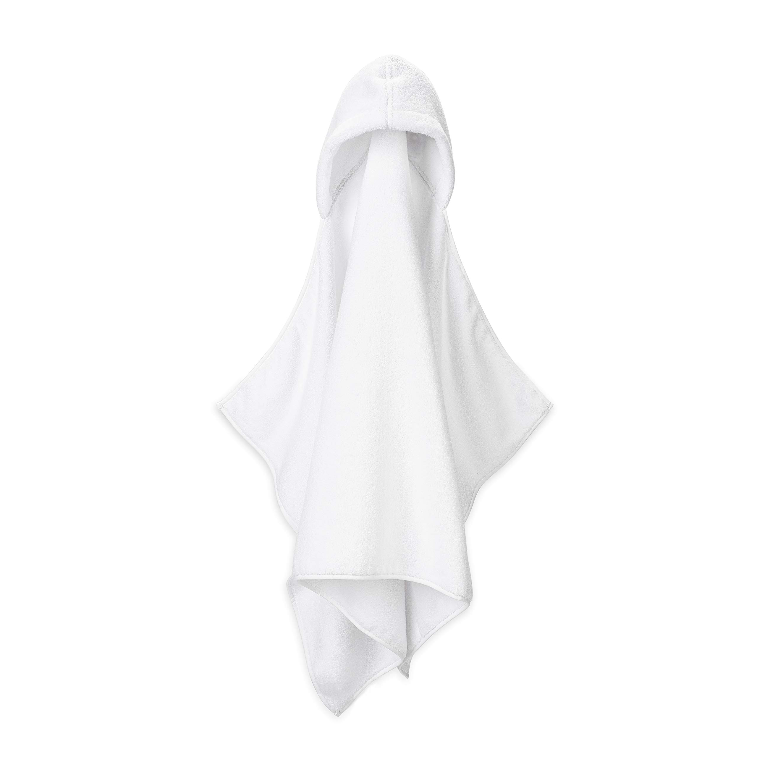 Premium 100% Soft Ring Spun Cotton Hooded Baby and Toddler Bath Towel by Parker Baby Co. - Infant Size