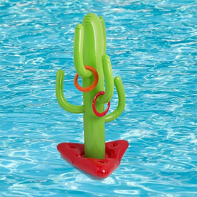 SUMME Niños Deportes al Aire Libre Inflable Divertido Cactus Tirar ...