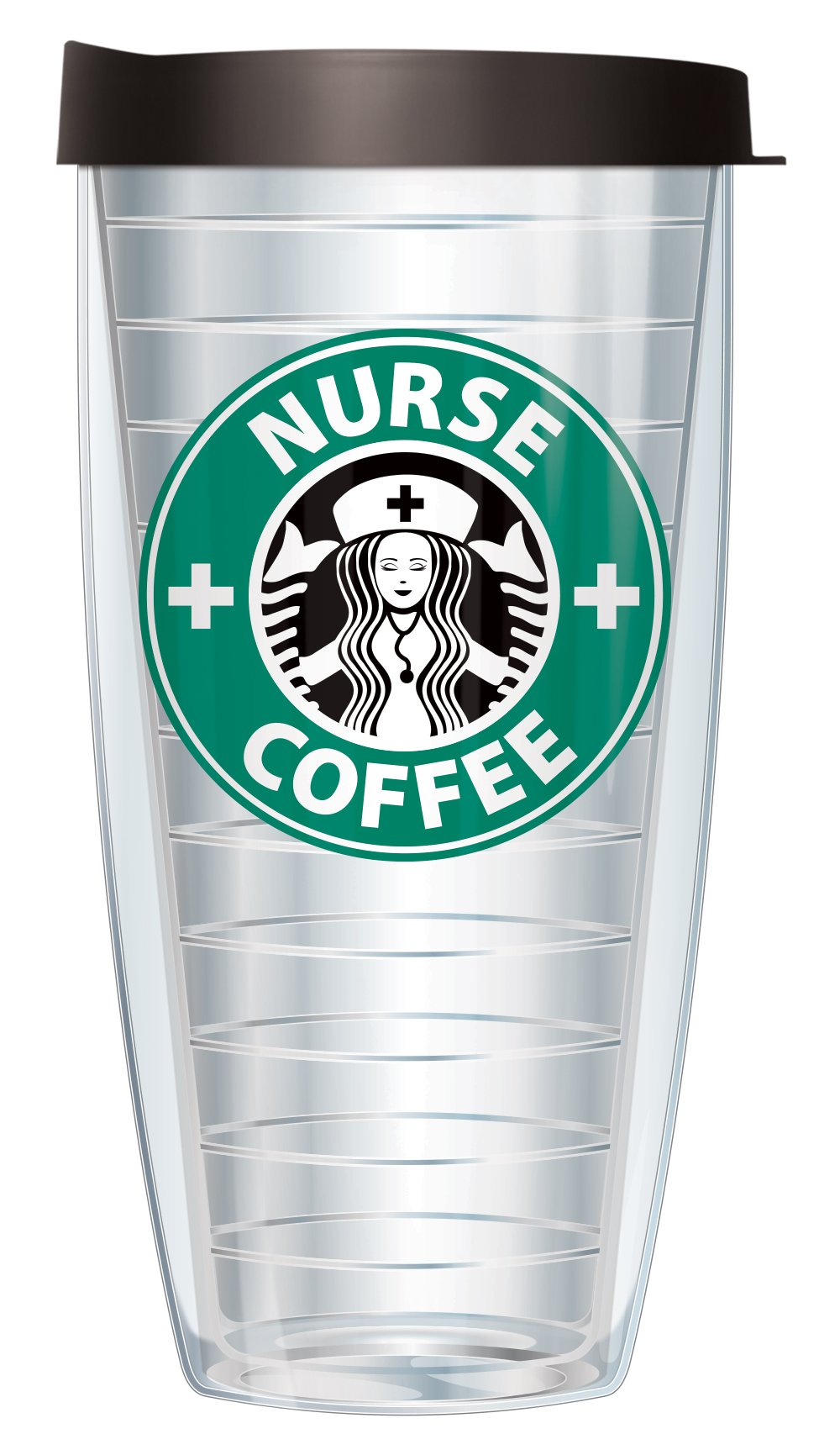 Nurse Coffee Parady 22oz Mug Tumbler Cup with Lid