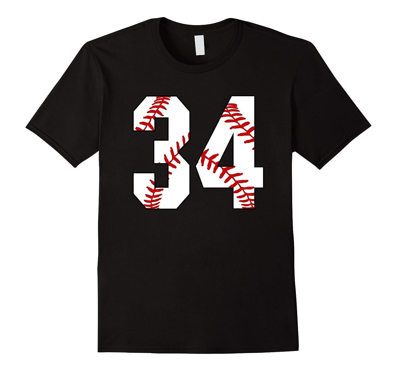 34 Baseball Laces Baseball Mom Jersey Love Baseball T-shirt-PL