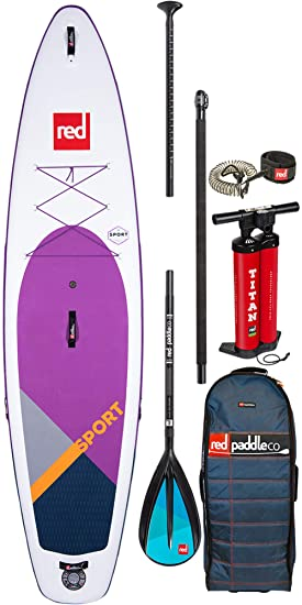 Red Paddle Co - Sup Stand Up Paddle Boarding - Sport MSL SE Purple ...