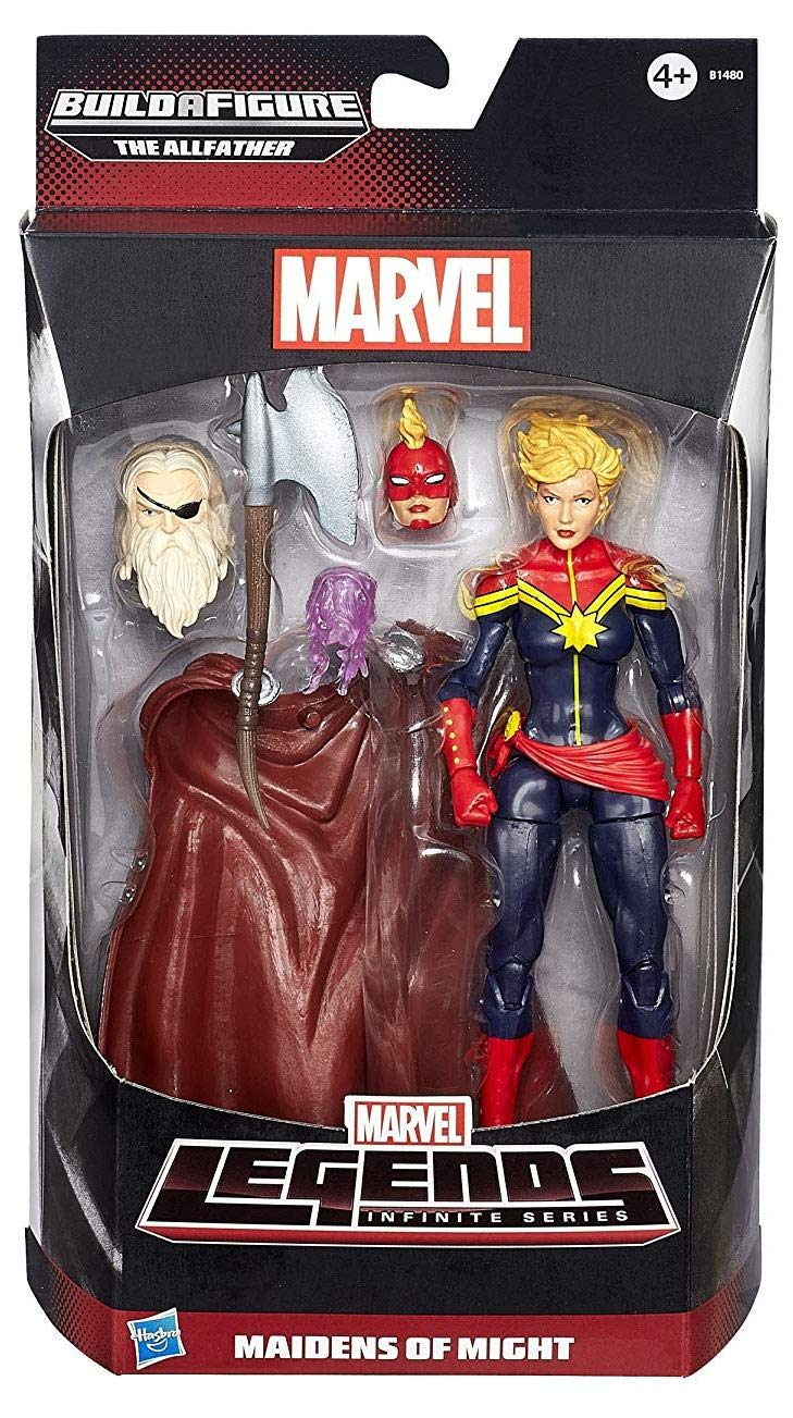 Rächer Legends Marvel Legends Rächer Infinite Actionfigur Captain Marvel - mit Build-A-Odin Part (Avengers) 2d07bc