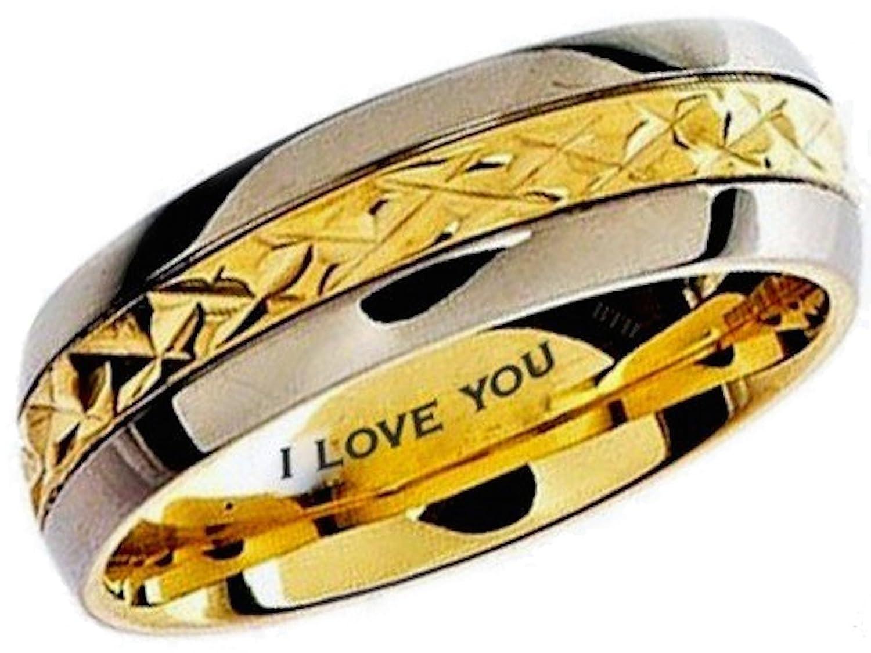 100 engravable titanium wedding bands compare prices on tit