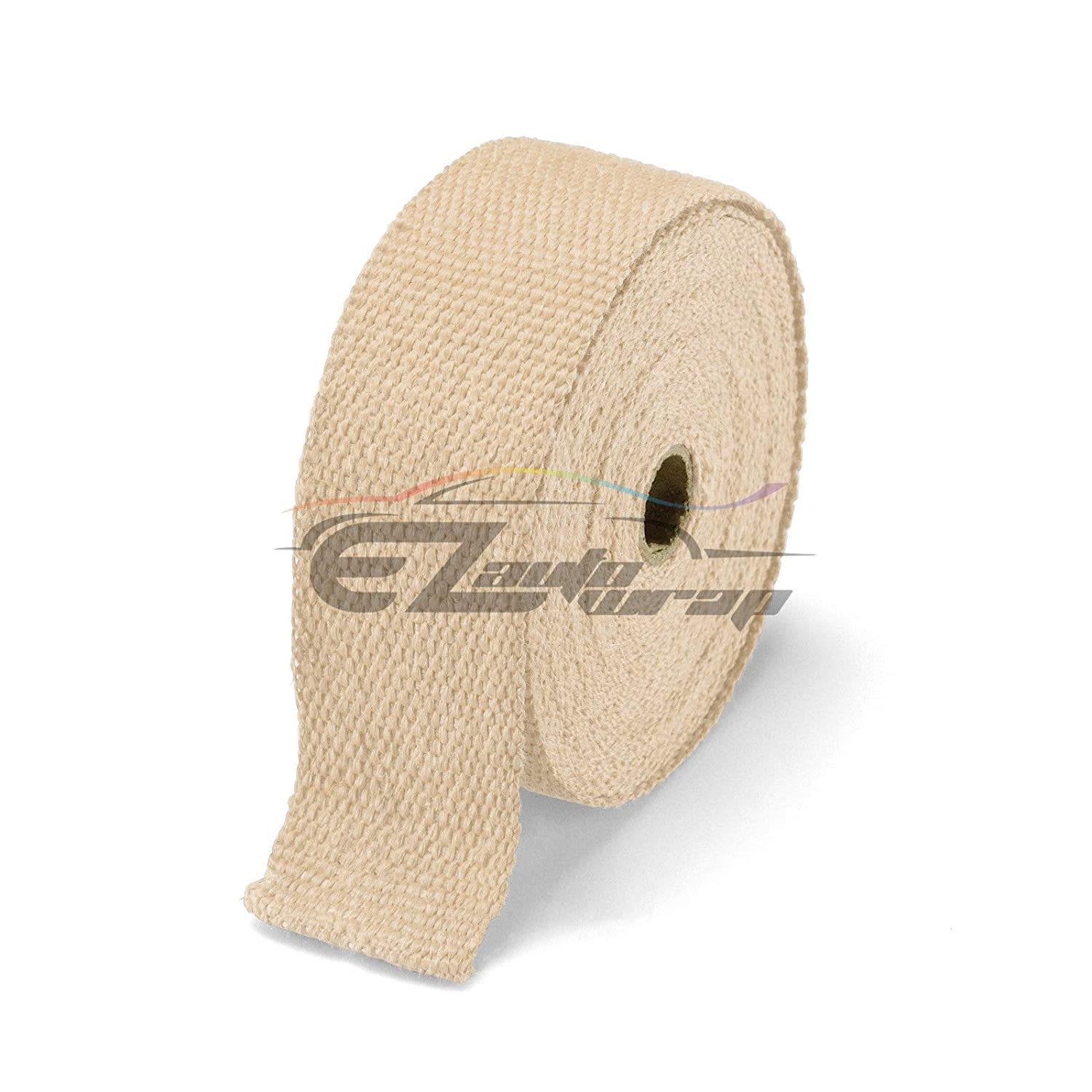 EZAUTOWRAP Teal Exhaust Pipe Insulation Thermal Heat Wrap 2 x 50 Motorcycle Header Protection Fiberglass Heat Shield 6X Stainless Ties