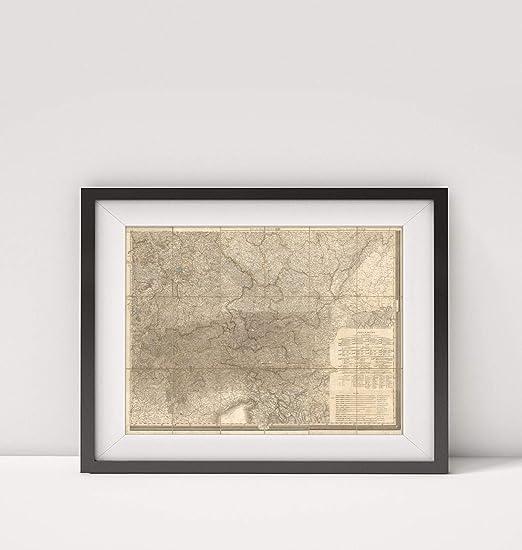 Amazon Com Mapa Carto Llc 1853 Map Of Belgium Sud Est Karte Von