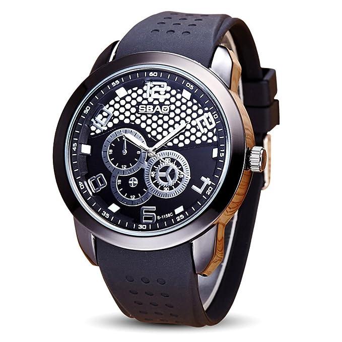 SamMoSon Relojes Hombre Acero Inoxidable Analogicos Automaticos, Reloj De Pulsera para Hombre De La Marca Top Luxury Famous Male Clock Watch: Amazon.es: ...