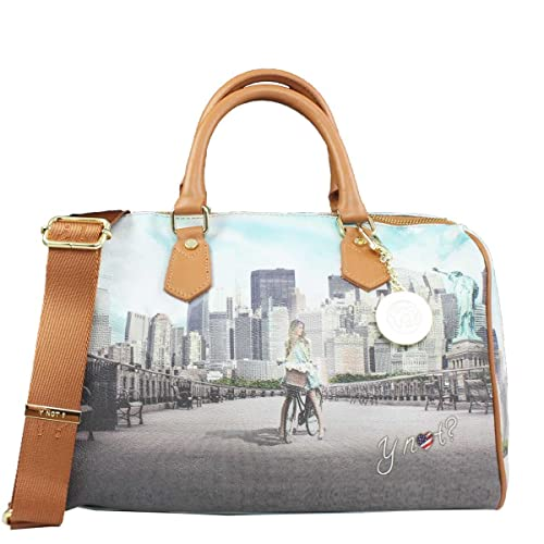Borsa Y Not bauletto New York Big Apple 318  Amazon.it  Scarpe e borse bb75dea2636