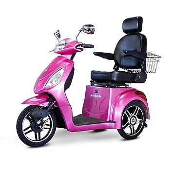 Amazon.com: e-wheels ew-36 3-Wheel Senior Eléctrico Scooter ...